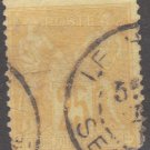 FRANCE - 1879 - 25c Peace and Commerce (Sc. #99) - Used Postage Stamp
