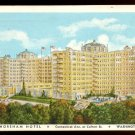 1934 Yosemite 1¢ (Sc. #740) - Unofficial FDC on Shoreham Hotel Postcard