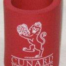 1980s CUNARD PRINCESS Red Foam Can Cozy
