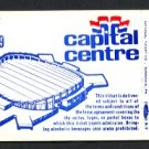 1979 CAPITAL CENTRE (Washington, D.C.) Sky Suite Ticket (Hockey Game) - Unused