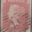 GREAT BRITAIN Postage Stamp - 1841 - 1p Queen Victoria (Sc. #3) - Used