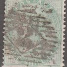 GREAT BRITAIN Postage Stamp - 1856 - 1s Queen Victoria (Sc. #28) - Used