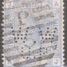 GREAT BRITAIN Postage Stamp - 1881 - 2½p Queen Victoria (Sc. #82, Pl. 23) - Used