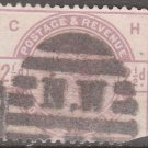 GREAT BRITAIN Postage Stamp - 1884 - 2½p Queen Victoria (Sc. #101) - Used