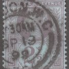 GREAT BRITAIN Postage Stamp - 1887 - 2½p Queen Victoria (Sc. #114) - Used
