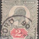 GREAT BRITAIN Postage Stamp - 1902 - 2p King Edward VII (Sc. #130) - Used