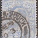 GREAT BRITAIN Postage Stamp - 1902 - 2½p King Edward VII (Sc. #131) - Used