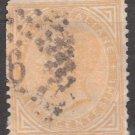 ITALY Postage Stamp - 1863 - 10c King Victor Emmanuel II (Sc. #27) - Used