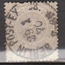 GERMANY Postage Stamp - 1868 - 2gr North German Confederation (Sc. #5) - Used