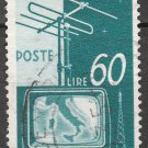 ITALY Postage Stamp - 1954 - 60L National Television Service (Sc. #650) - Used