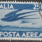 ITALY Postage Stamp - 1946 - 25L Air Mail (Sc. #C111) - Used
