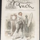 PUCK Magazine - July 20, 1887 (No. 541) - Vintage political humor, social satire