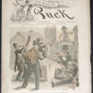 PUCK Magazine - October 12, 1887 (No. 553) - Vintage political humor, social satire