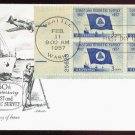 ARTMASTER - 1957 Coast Geodetic Survey Sesquicentennial (#1088) FDC - PB UA