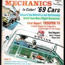 10/68 Popular Mechanics - USS NEW JERSEY, SNOWMOBILES, WHALE FARMING, PORTRAIT PHOTOGRAPHY