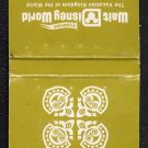 WALT DISNEY WORLD - POLYNESIAN VILLAGE - Matchbook Cover - Orlando, Florida