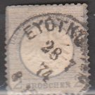 GERMANY 19th Century Postage Stamp - 1872 - 2gr Imperial Eagle (Sc. #18) - Used