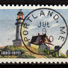 Bullseye (SOTN) First Day Dated Stamp - 1970 Maine Statehood (#1391)