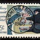 Bullseye (SOTN) First Day Dated Stamp - 1966 Mary Cassatt (#1322)