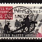 Bullseye (SOTN) First Day Dated Stamp - 1964 Battle of the Wilderness (#1181)