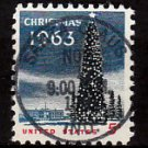 Bullseye (SOTN) First Day Dated Stamp - 1963 Christmas (#1240)