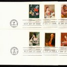 FARNAM - 1974 Universal Postal Union (#1530-7) FDCs (Set of 8) - UA