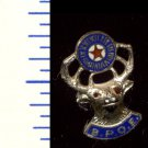 Vintage BENEVOLENT AND PROTECTIVE ORDER OF ELKS (B.P.O.E.) Sterling Silver Lapel Pin