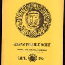 BALPEX 1975 - Germany Philatelic Society National Convention - Souvenir Folder