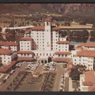 1950s COLORADO SPRINGS - Broadmoor Hotel, aerial view - Postcard