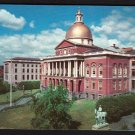 1950s BOSTON, MASSACHUSETTS - State House - Postcard