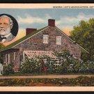 1950s GETTYSBURG, PENNSYLVANIA - General Lee's Headquarters - Postcard
