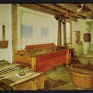 1950s OLD CHATHAM, NEW YORK - The Shaker Museum, Wash Shop - Postcard