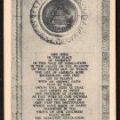1950s VALLEY FORGE, PENNSYLVANIA - National Memorial Arch Inscription - Postcard