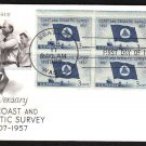 ART CRAFT - 1957 U.S. Coast and Geodetic Survey (#1088) FDC - PB UA