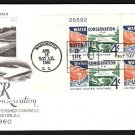 ART CRAFT - 1960 Water Conservation (#1150) FDC - PB UA
