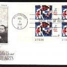 ART CRAFT - 1964 Fine Arts (#1259) FDC - PB UA