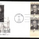 ART CRAFT - 1965 Winston Churchill (#1264) FDC - PB UA