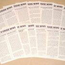 1986 OCEAN & CRUISE NEWS - Complete Year - All 12 Issues
