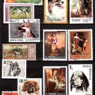 DOGS On Postage Stamps - 27 Different Worldwide