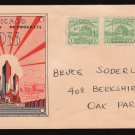 1933 Century of Progress 1¢ FDC (Sc. #728) - unknown cachet