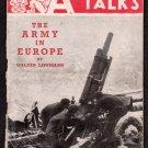 January 6, 1945 - ARMY TALKS (Vol. III, No. 1) - Restricted ETO - U.S. Army