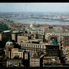 1950s BOSTON, MASS. - Bird's Eye View from Custom House Tower - Unused Postcard