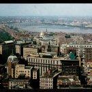 1950s BOSTON, MASS. - Bird's Eye View from Custom House Tower - Unused Postcard