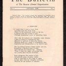 January, 1938 (Vol. 1, No. 1) - BEACON SCHOOL Alumni BULLETIN - Wellesley Hills, Massachusetts