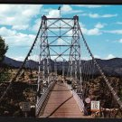 1950s CAÑON CITY, COLORADO - Royal Gorge Bridge Approach - Unused Postcard
