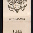 THE CARLTON HOUSE Motor Inn - Matchbook Cover - Brockton, Massachusetts