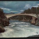 1950s YELLOWSTONE NATIONAL PARK - Chittenden Bridge - Unused Postcard