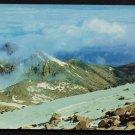 1960s(?) PIKES PEAK, Colorado - View Above the Clouds - Unused Postcard