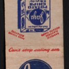 """JAY'S Potato Chips - """"A Pip of a Chip"""" - 1950s(?) Matchbook Cover"""