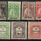 ST. THOMAS and PRINCE ISLANDS - 1914-1921 - 11 Different Postage Stamps - Unused